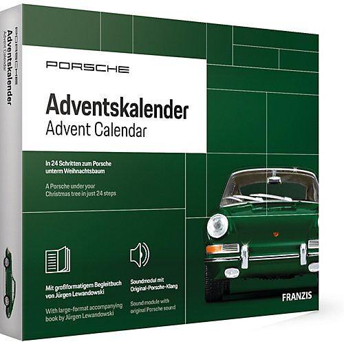 Porsche Adventskalender grün