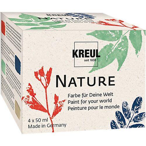 KREUL Nature Set - ressourcenschonende Farben, 4 x 50 ml