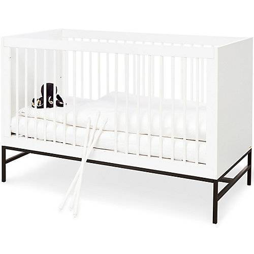 Pinolino Kinderbett Steel, weiß, 70 x 140 cm