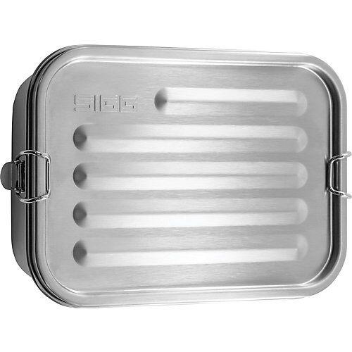 SIGG Edelstahl-Brotdose GEMSTONE FOOD BOX, auslaufsicher silber-kombi