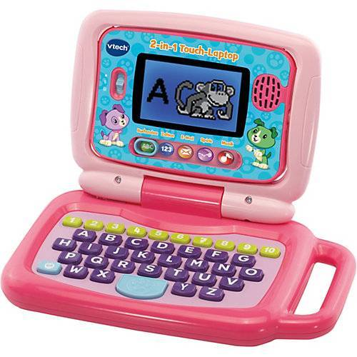 Vtech 2-in-1 Touch-Laptop pink