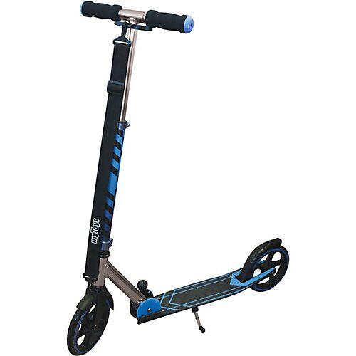 myToys Scooter 205 mit Tragegurt, blau