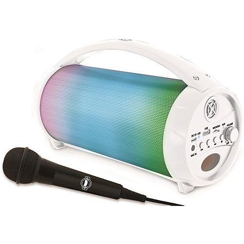 LEXIBOOK Iparty Bluetooth Lautsprecher Flashboom 5 mit Mikrofon mehrfarbig