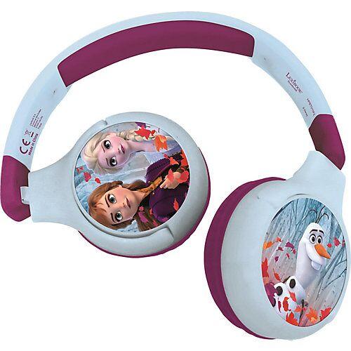 LEXIBOOK Disney die Eiskönigin Komfortable kabelose Bluetooth Kopfhörer Kinder blau/lila  Kinder