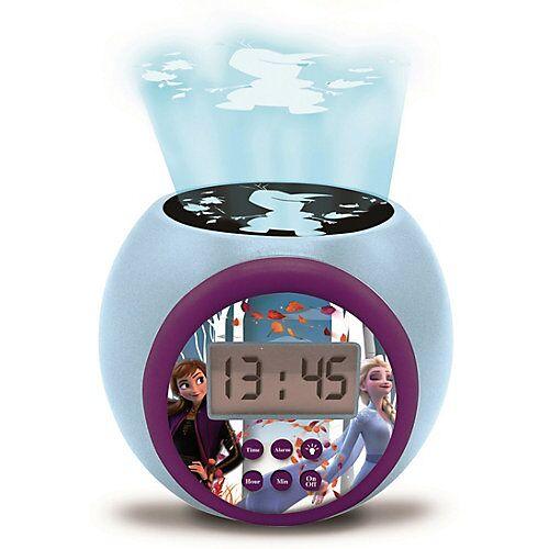 LEXIBOOK Disney die Eiskönigin Wecker mit Projektion Disney Die Eiskönigin blau/lila
