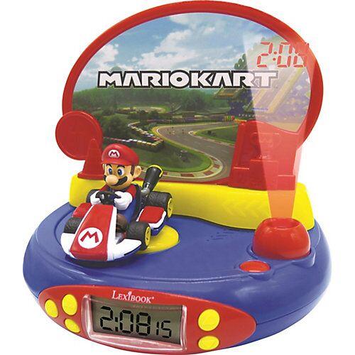 LEXIBOOK Super Mario Wecker mit Projektor und Sound mehrfarbig