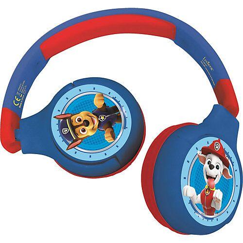 LEXIBOOK Komfortable kabelose Bluetooth Kopfhörer  Kinder Paw Patrol mehrfarbig  Kinder
