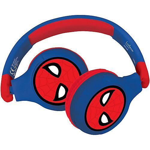 LEXIBOOK Komfortable kabelose Bluetooth Kopfhörer  Kinder Spiderman schwarz/rot  Kinder