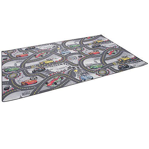 Snapstyle Kinder und Spielteppich Disney Cars Spielteppiche grau