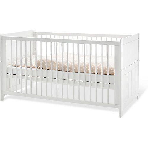 Pinolino Kinderbett 'Cleo' weiß/beige