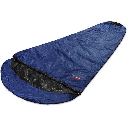 normani® Regenüberzug Schlafsäcke SleeBag Schlafsäcke schwarz/blau  Erwachsene
