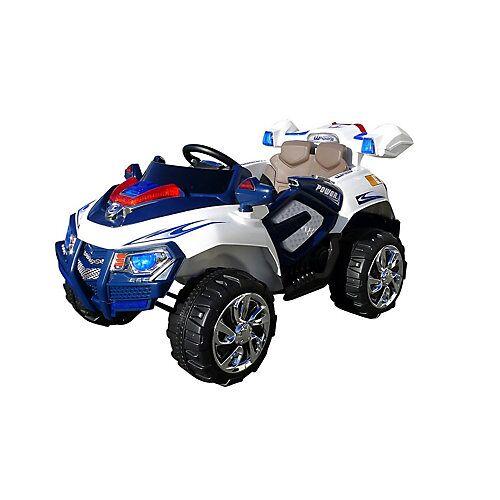 Actionbikes Motors Kinder Elektroauto Jeep 8188 blau/weiß