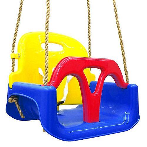 LittleTom 3-in-1 Kinderschaukel Baby Garten Schaukel Indoor Outdoor mehrfarbig