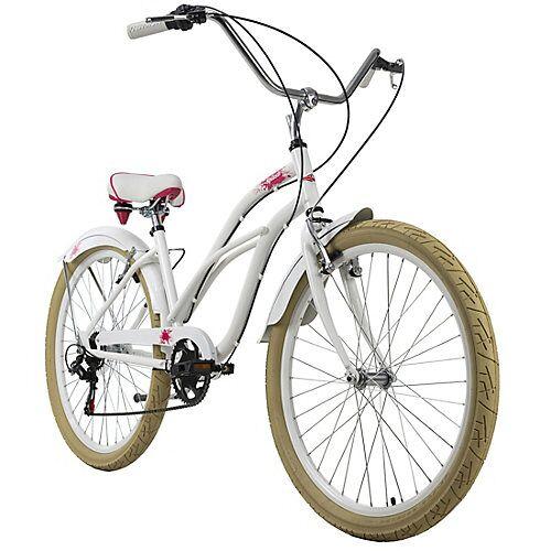 KS Cycling Beachcruiser 26 Zoll Splash 6 Gänge Beachcruiser, Rahmenhöhe: 44 cm weiß