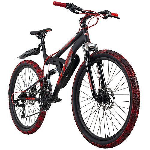 KS Cycling Mountainbike Fully 26 Zoll Bliss Pro Mountainbikes Rahmenhöhe: 46 cm schwarz