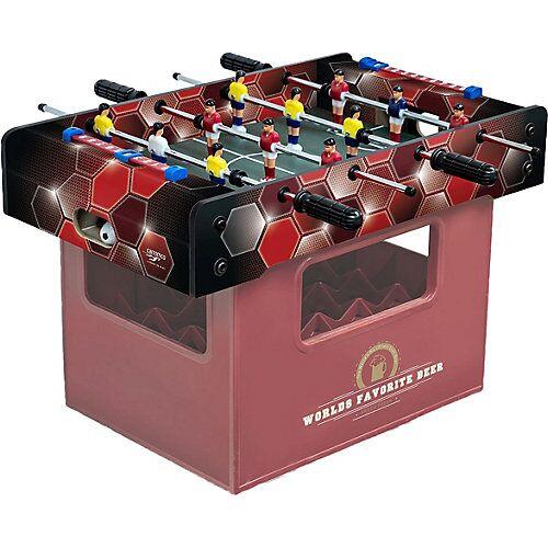 Carromco Kicker-Bierkasten Rote Waben mehrfarbig