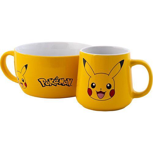 Frühstücksset Pikachu gelb