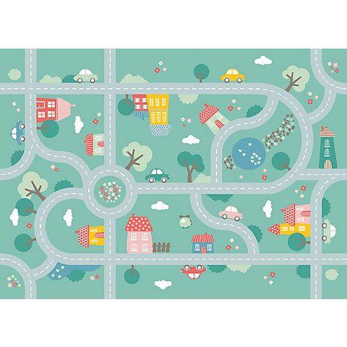 ACHOKA® Spielteppich, Print 786, 100 x 150 cm mehrfarbig