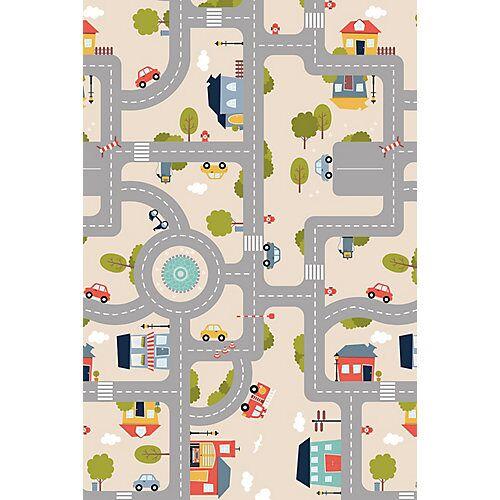 ACHOKA® Spielteppich, Print 914, 100 x 150 cm mehrfarbig