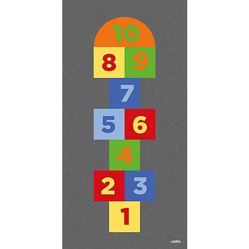 ACHOKA® Spielteppich Hop 2, 100 x 200 cm mehrfarbig
