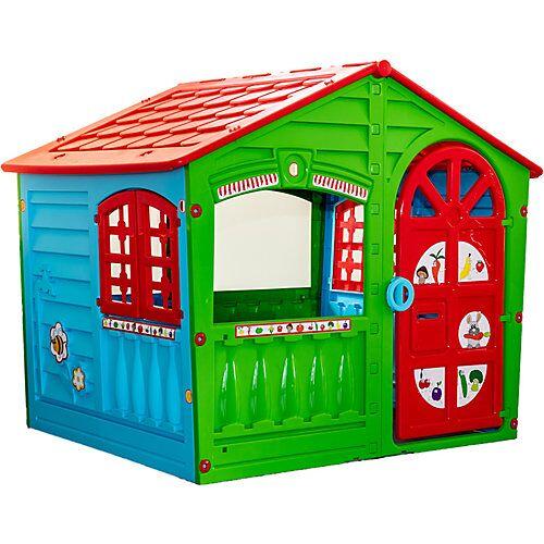 Spielhaus House of Fun Special Edition Kaufladen & Feuerwehr mehrfarbig