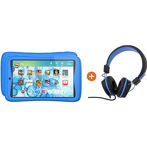 Kurio Bundle: Kurio Tab Connect Toggo, blau + Kopfhörer