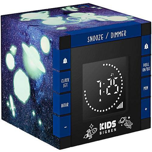 bigben Kids Wecker R70 - Galaxy mit Projektor