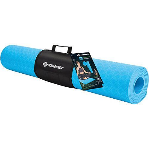 Schildkröt Yogamatte 4mm TPE blue blau