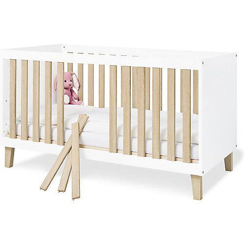 Pinolino Kinderbett 'Lumi' weiß