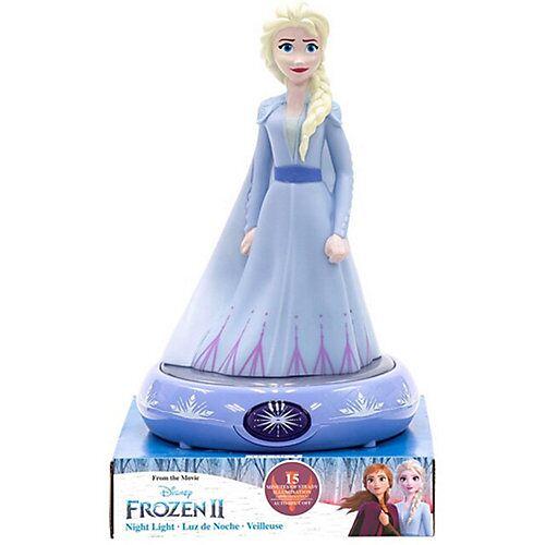 Disney Die Eiskönigin Nachttischlampe 3D Figur Elsa blau