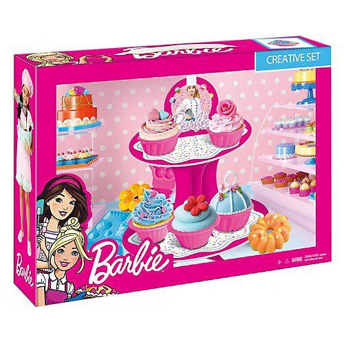 Mega Creative Barbie Knet-Set Konditor bunt