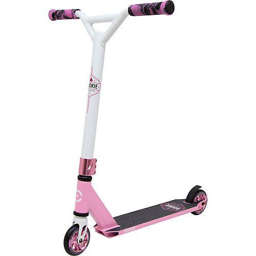Scooter Rookie, 100 mm Rollen, pink/weiß