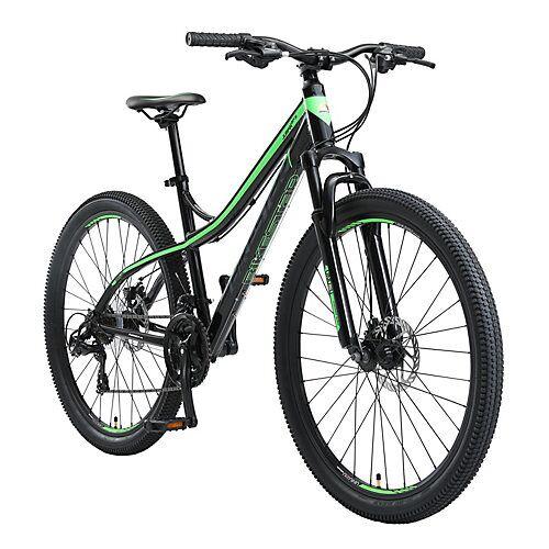 bikestar Fahrrad Hardtail 27.5 Zoll Alu MTB schwarz-kombi