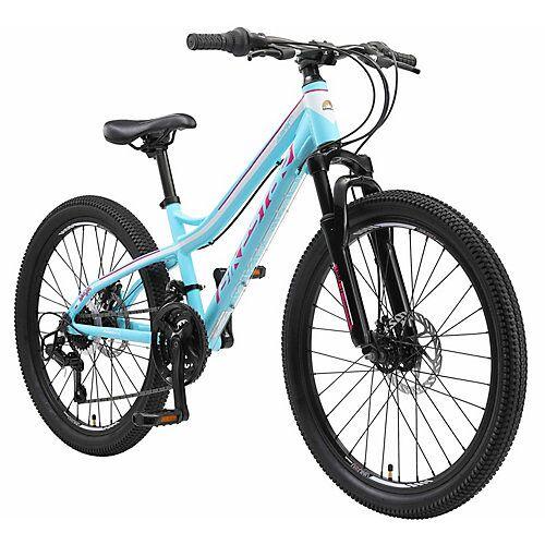 bikestar Kinderrad 24 Zoll Alu MTB weiß-kombi