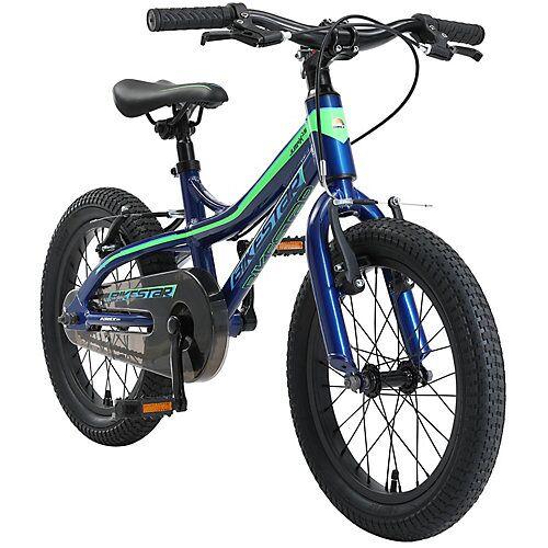 bikestar Kinderrad 16 Zoll Alu MTB blau-kombi