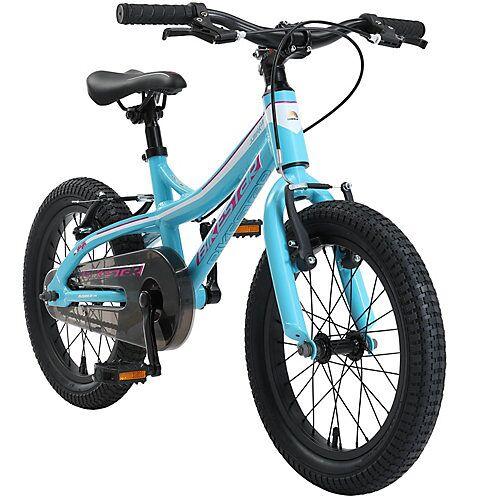 bikestar Kinderrad 16 Zoll Alu MTB weiß-kombi