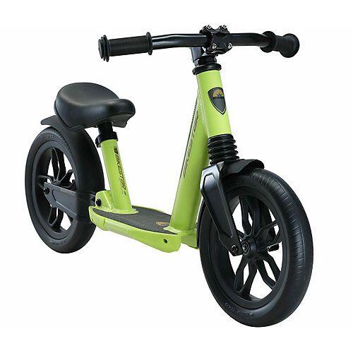 bikestar Laufrad 10 Zoll Alu Vollgefedert grün