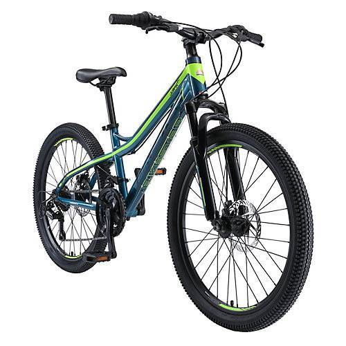 bikestar Kinderrad 24 Zoll Alu MTB blau-kombi