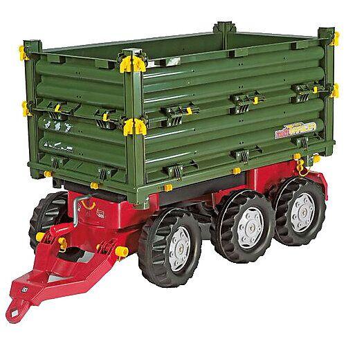 ROLLY TOYS Rolly Multitrailer 3-Achs-Dreiseitenkipper-Anhänger