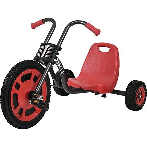 hauck Toys Dreirad Chopper Typhoon Black Red schwarz/rot
