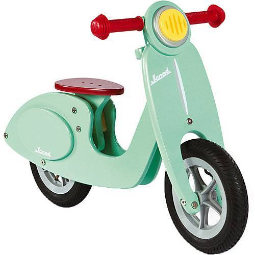 Janod Laufrad gross Scooter mint (Holz)