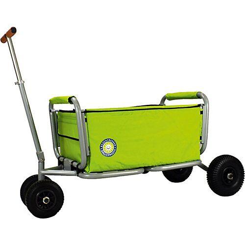 Beachtrekker Bollerwagen Life, grün, faltbar