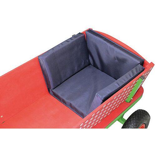 Beachtrekker Bollerwagen-Sitzkissen, blau