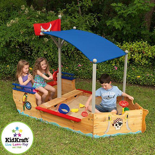 KidKraft Sandkasten Piratenschiff