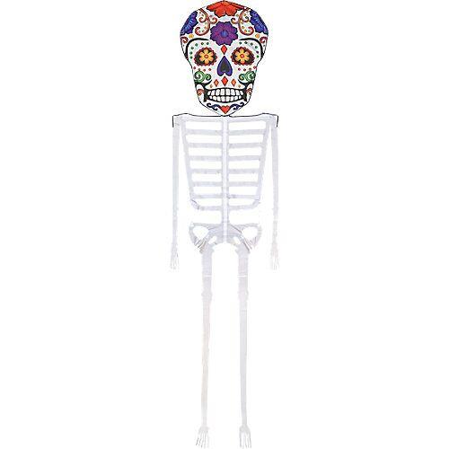 Elliot Dia De Los Muertos Skeleton Kite, 13 ft.