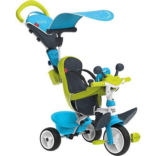 Smoby Dreirad Baby Driver Komfort, blau