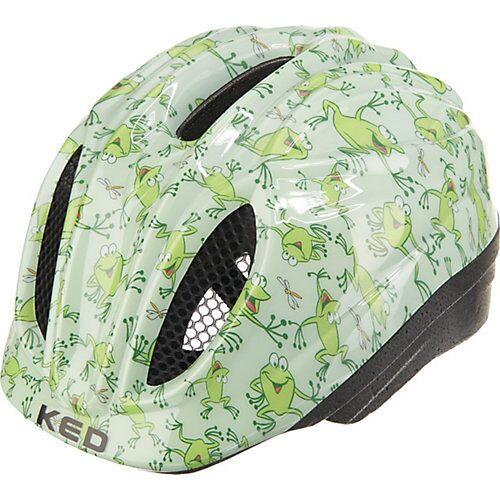 KED Helmsysteme Fahrradhelm Meggy Frosch grün