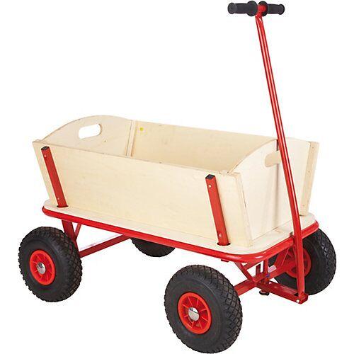 Kindermarke Bollerwagen natur