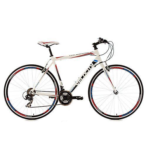KS Cycling Fitnessrad 21 Gänge Fitness-Bike Velocity weiß 28 Zoll Fitnessbikes mehrfarbig