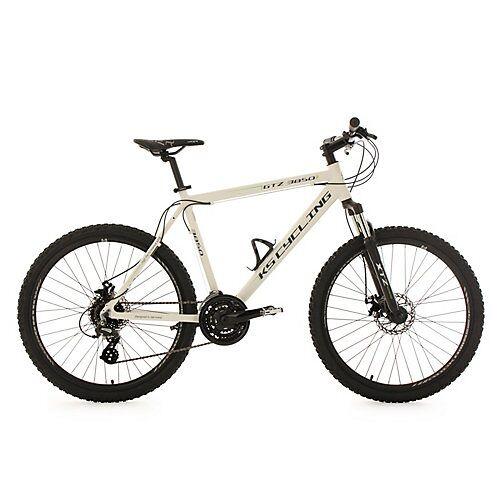 KS Cycling Mountainbike Hardtail 24 Gänge GTZ 26 Zoll Mountainbikes weiß